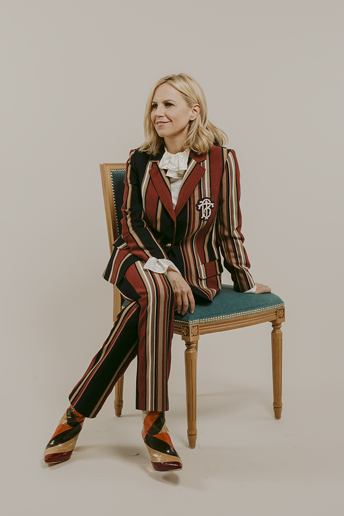 Tory Burch Footwear News Cover Story