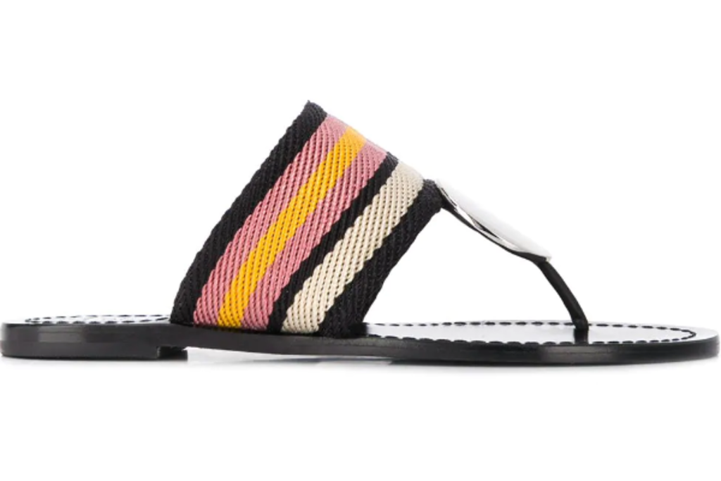 summer 2019, sandal, trends, tory, burch, thong