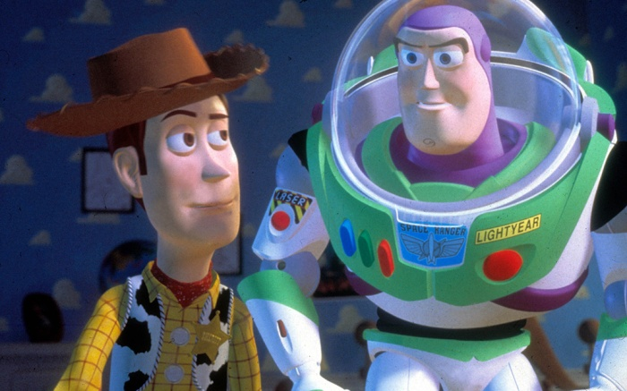 Editorial use only. No book cover usage.Mandatory Credit: Photo by Moviestore/REX/Shutterstock (1661888a)Toy Story , Woody (Character) Buzz Lightyear (Character)Film and Television