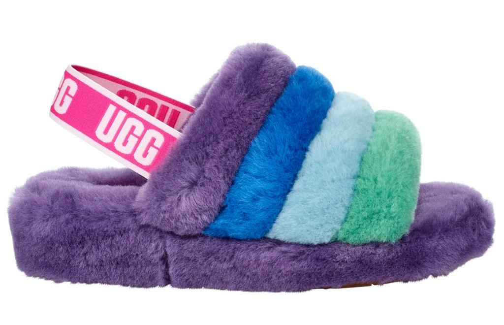 ugg Fluff Yeah slide, pride month