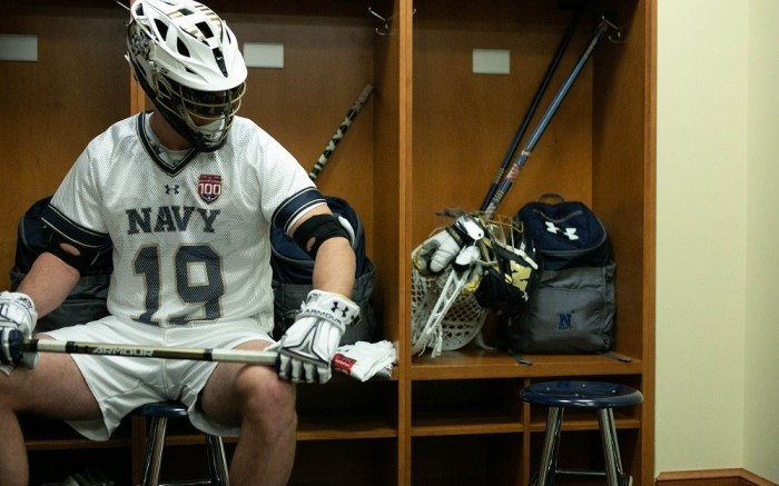 under armour, navy, lacrosse