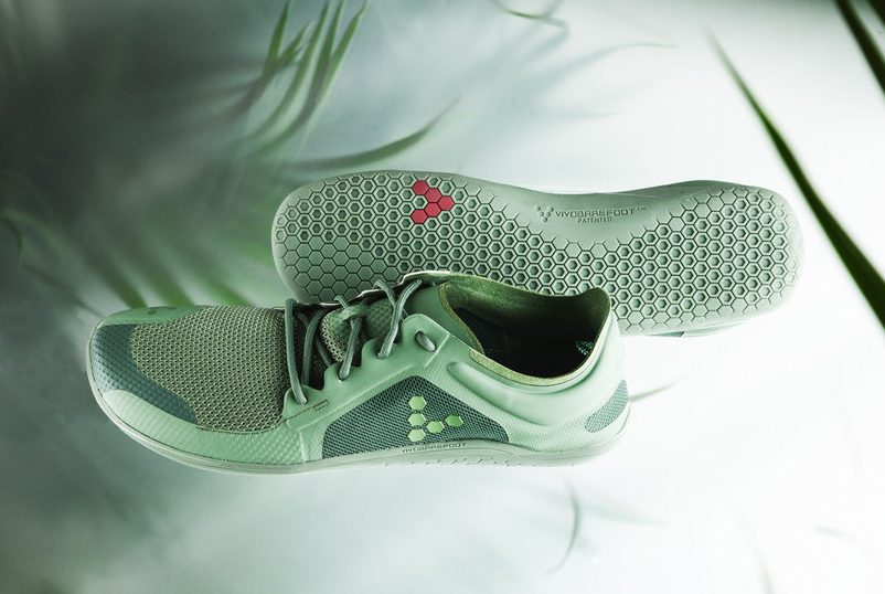 VIVOBAREFOOT's new plant-based Primus Lite II Bio shoe, the company's most innovative sustainable shoe to-date and one of the world's first plant-based performance shoes.