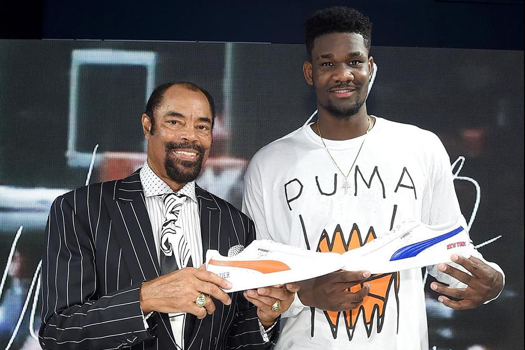 """Puma NBA legend Walt """"Clyde"""" Frazier Deandre Ayton"""