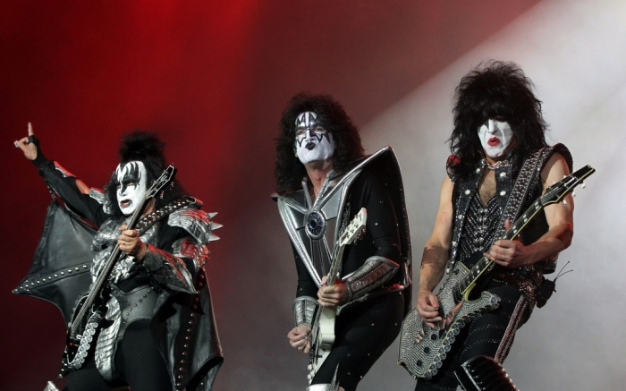 U.S. Band Kiss in Mexico