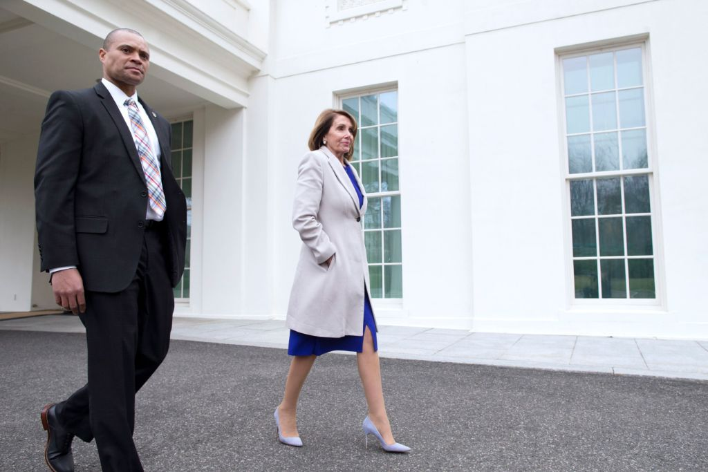 nancy, pelosi, power, dressing, lucky, purple, pumps