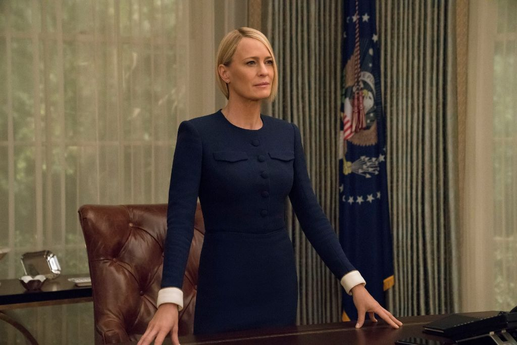 claire, underwood, house, of, cards, presidential, style, politics, power, dressing