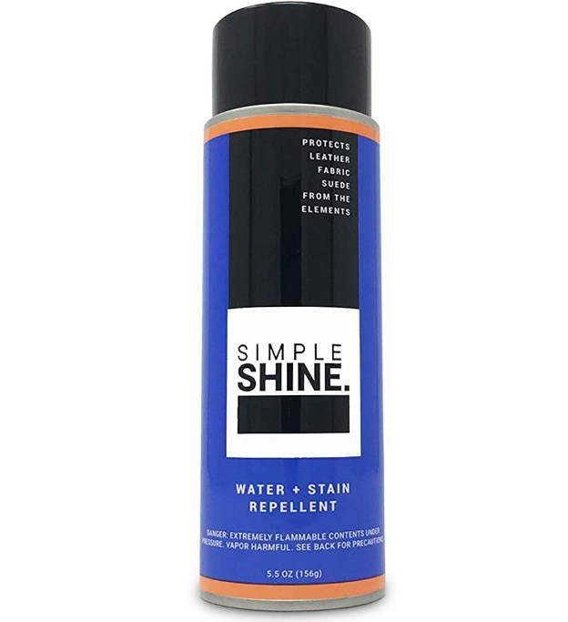 simple shine spray
