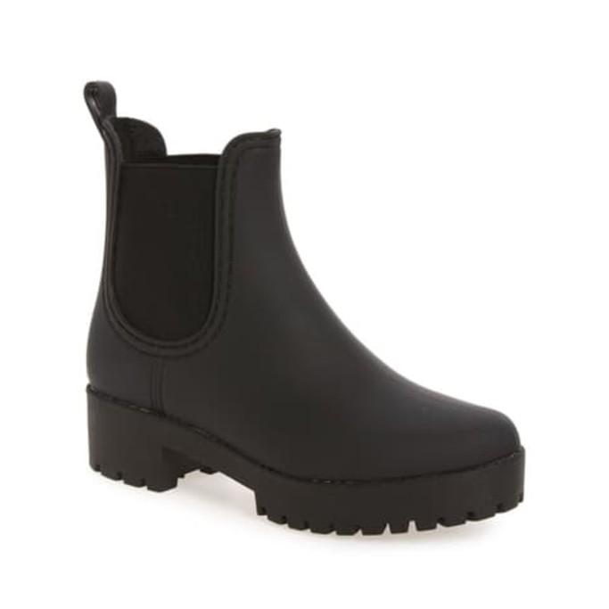 jeffrey campbell cloudy rain boot, best rain boots for women