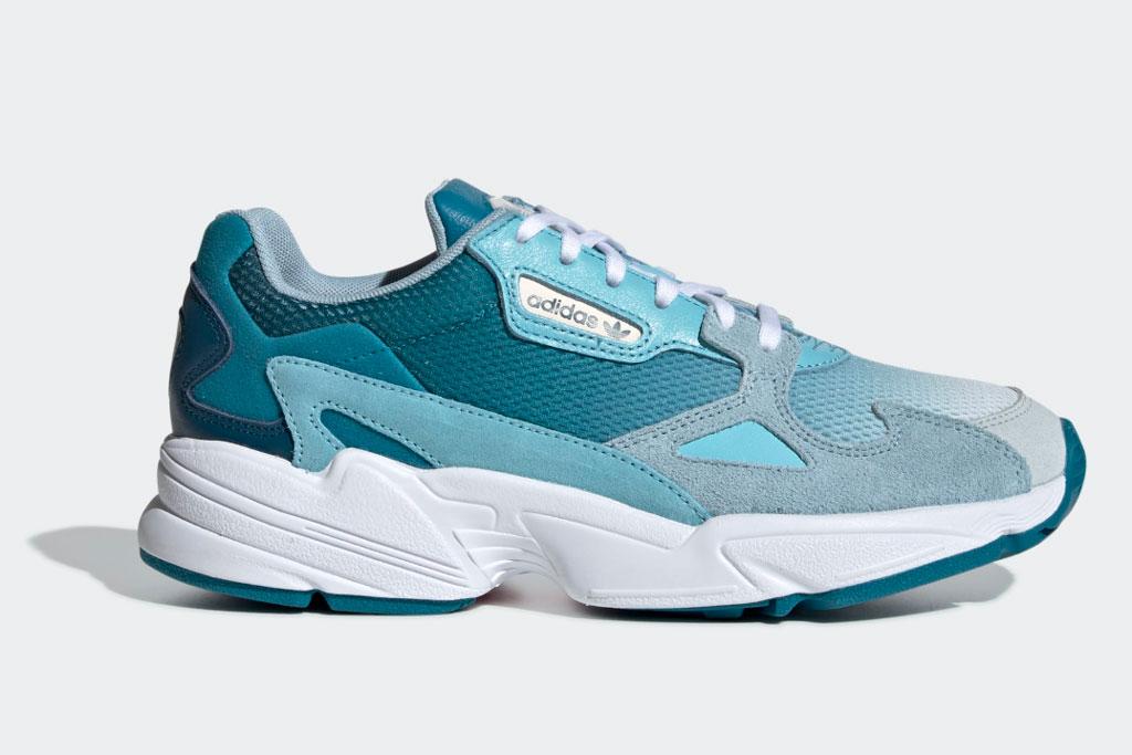 "The Adidas Falcon ""Blue Tint."""