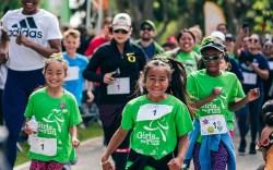 Adidas Girls on the Run event