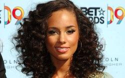 Alicia Keys, red carpet, 2009 bet