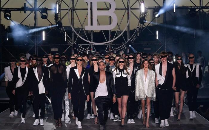 Balmain spring 2020 Paris Fashion Week Men's.