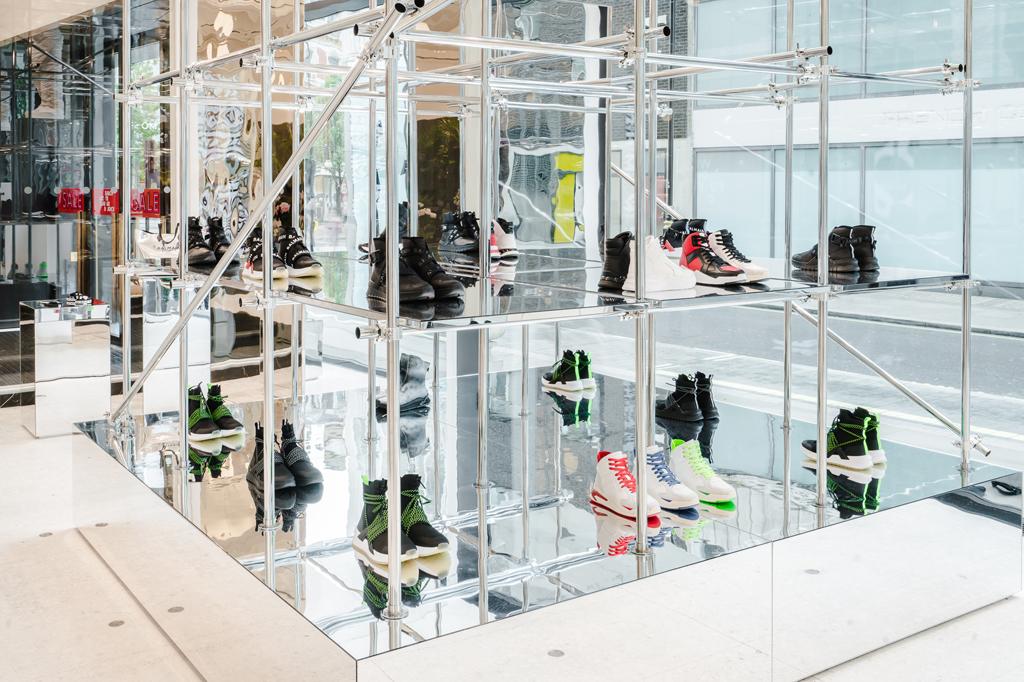 Balmain Men's Sneaker Customization Selfridges London