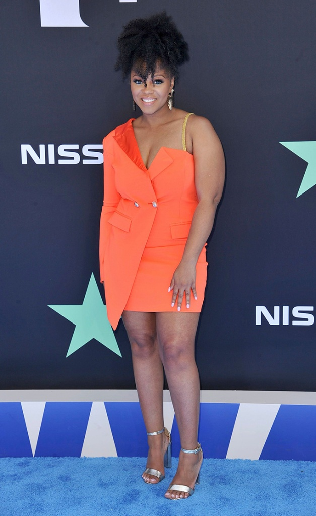 Perri Camper arrives at the BET Awards, at the Microsoft Theater in Los Angeles2019 BET Awards - Arrivals, Los Angeles, USA - 23 Jun 2019