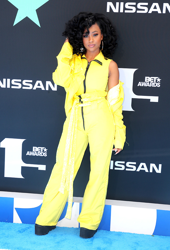 Katlyn NicholBET Awards, Arrivals, Microsoft Theater, Los Angeles, USA - 23 Jun 2019