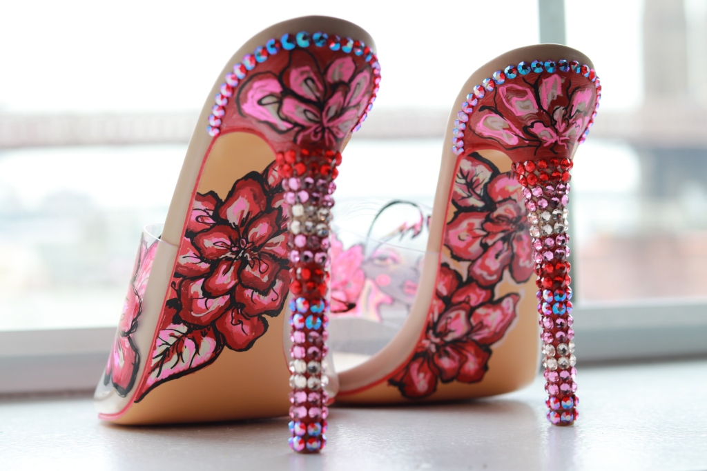 Billy Porter's custom Orel Brotd shoes