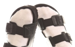 birkenstock x random identities arizona sandals,