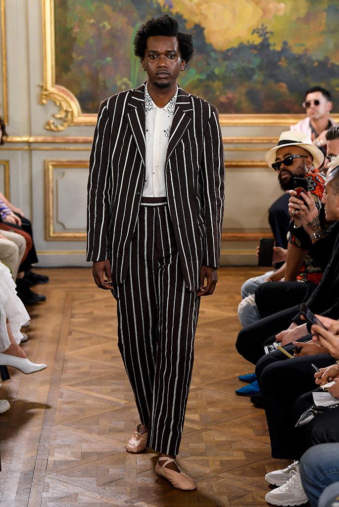 Bode, spring 2020, Paris Men's Fashion Week.