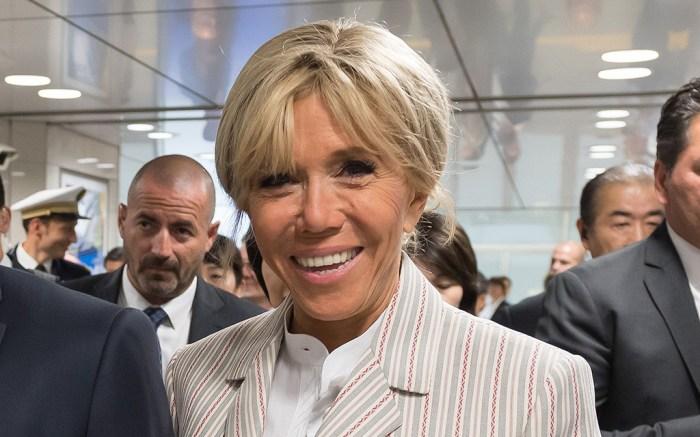 Brigitte Macron Takes Menswear Inspo To Chic Levels In Modern Pumps Footwear News