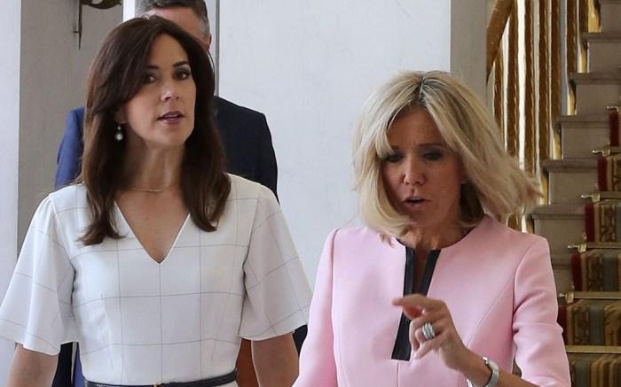 Crown Princess Mary of Denmark in Paris, France – 24 Jun 2019
