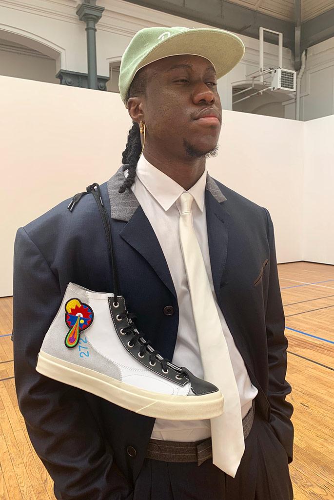 Byredo sneakers spring 2020, Paris Fashion Week Men's.