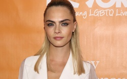 Cara Delevingne attends The Trevor Project's