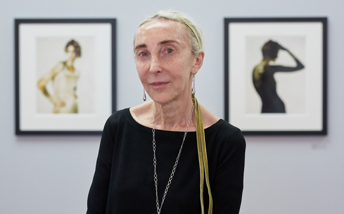 Carla Sozzani Exhibition Between Art and Fashion in Berlin, Germany - 01 Jun 2018Carla Sozzani, former editor-in-chief of the Italian Elle and Vogue magazines, poses in front of her collections during a press preview of 'Between Art & Fashion. Photographs from the Collection of Carla Sozzani' at the Helmut Newton Foundation in Berlin, Germany, 01 June 2018. The exhibition runs from 02 June to 18 November.