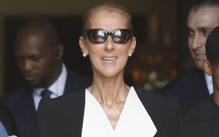 Celine Dion Celine Dion out and about, Paris, France - 30 Jun 2019