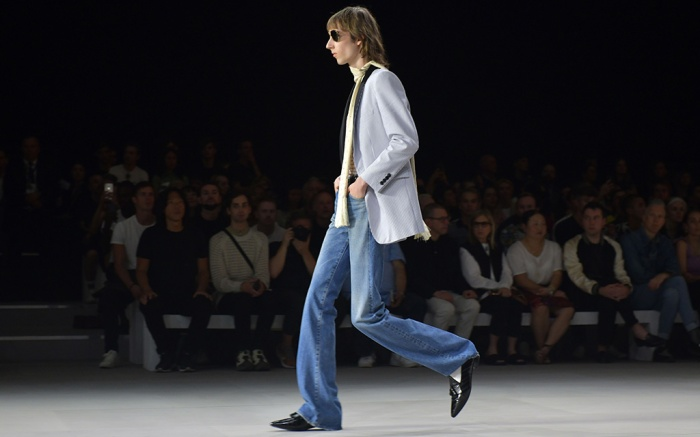 Model on the catwalkCeline show, Runway, Spring Summer 2020, Paris Fashion Week Men's, France - 23 Jun 2019