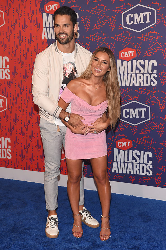 Jessie James Decker and Eric DeckerCMT Music Awards, Arrivals, Bridgestone Arena, Nashville, USA - 05 Jun 2019