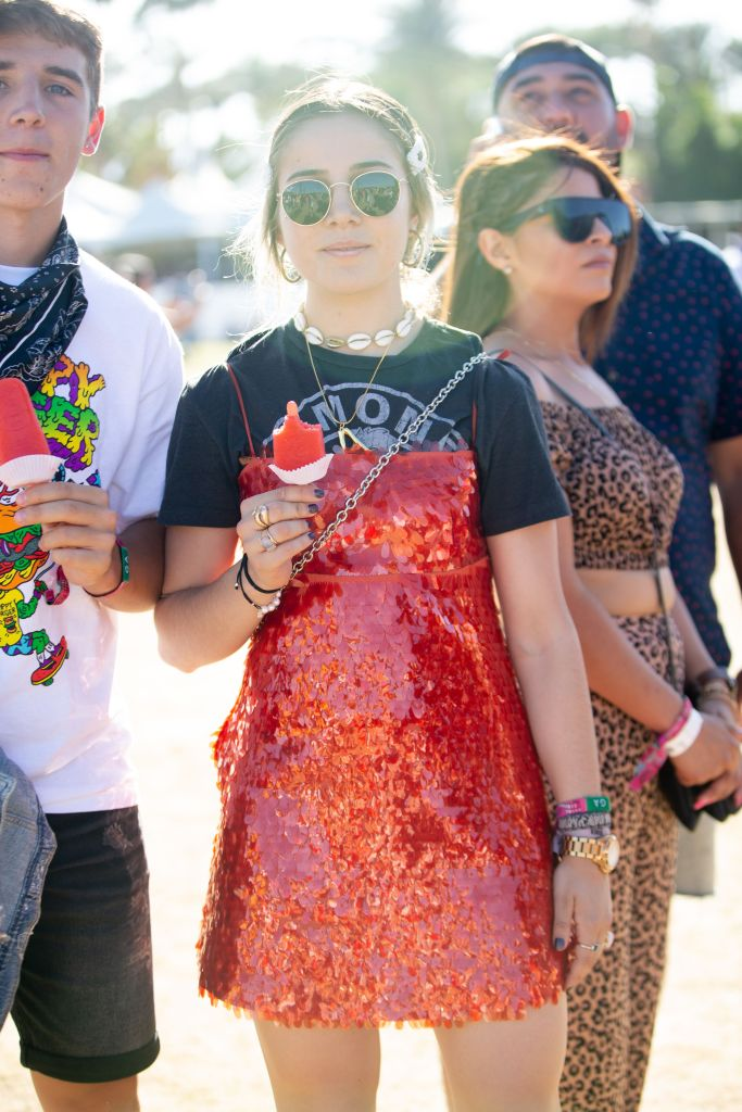 Street styleStreet Style, Coachella Valley Music and Arts Festival, Weekend 2, Day 3, Indio, USA - 21 Apr 2019