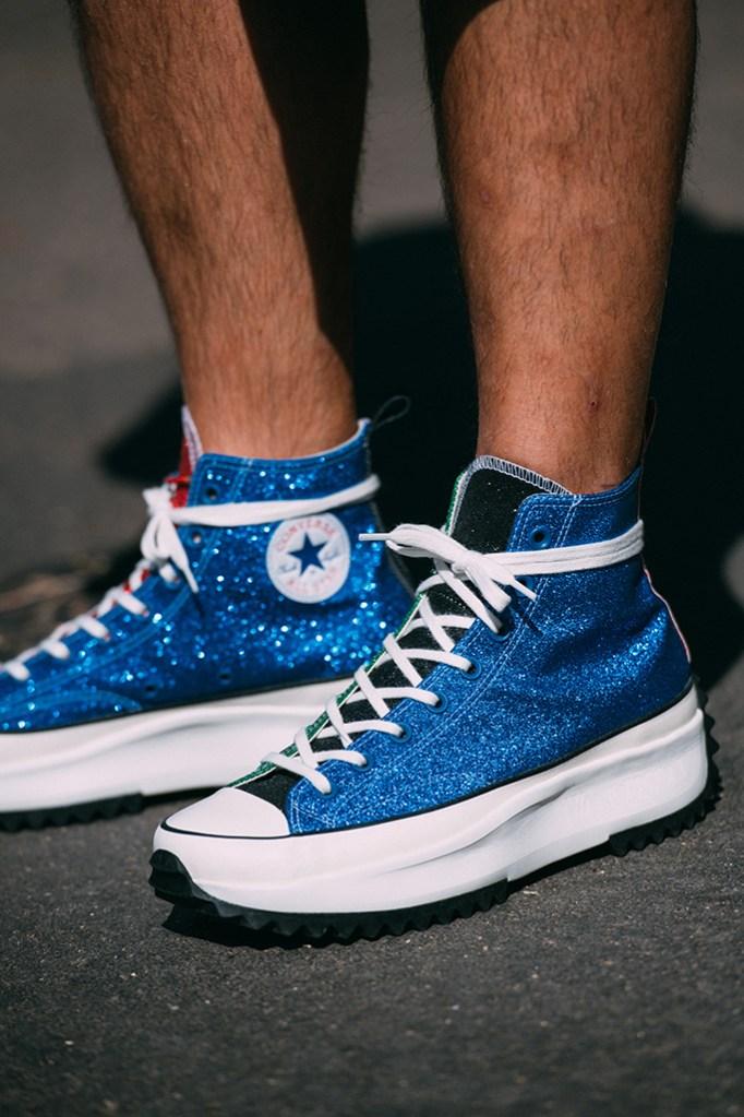 Converse x JW Anderson , sneakers, street style, milan fashion week men's
