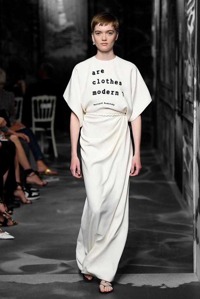 Christian Dior Haute Couture, fall 2019.