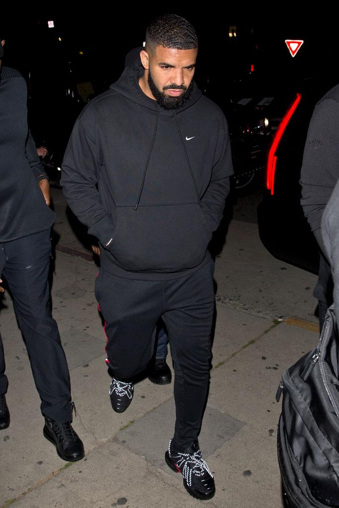 Drake, celebrity style, nike, los angeles, june 2019