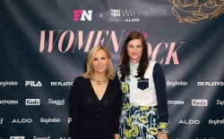 Tory Burch and Tabitha Simmons at