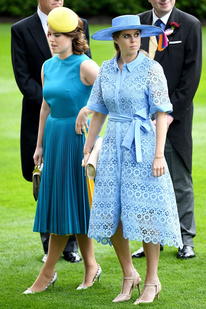 Princess Eugenie and Princess BeatriceRoyal Ascot, Day 1, UK - 18 Jun 2019