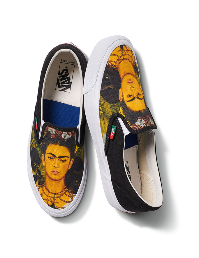 Frida Kahlo x Vans, Vault by Vans shoes