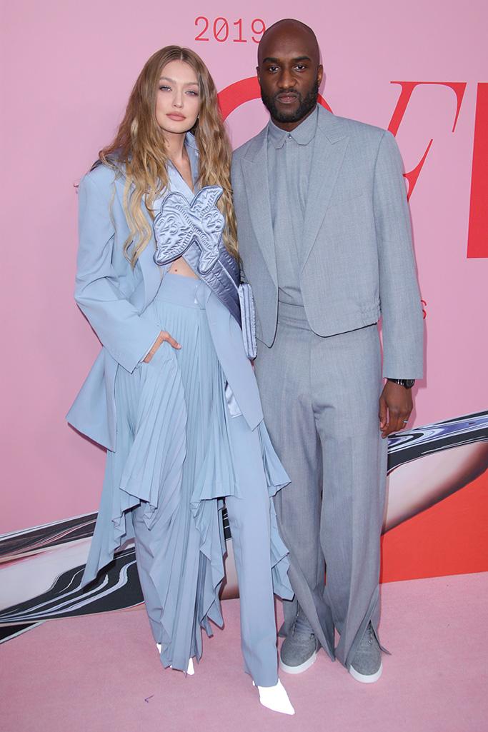 Gigi Hadid and Virgil AblohCFDA Fashion Awards, Arrivals, Brooklyn Museum, New York, USA - 03 Jun 2019