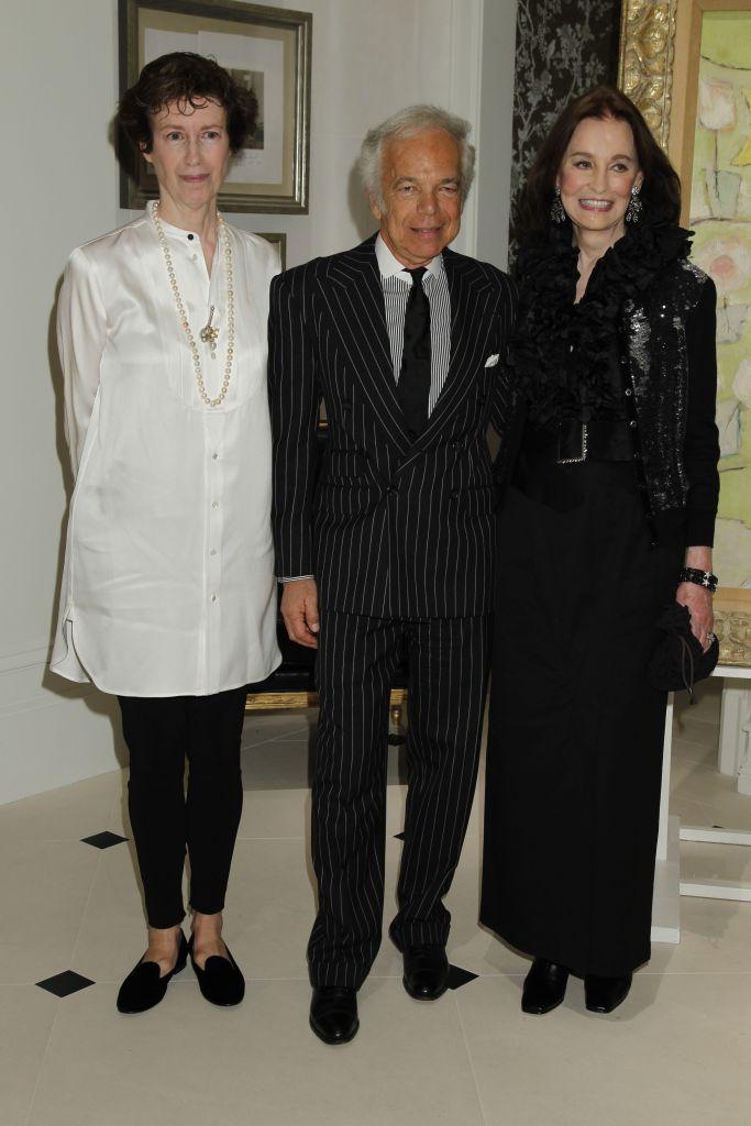 Ralph Lauren, Gloria VanderbiltThe World of Gloria Vanderbilt Book Party, New York