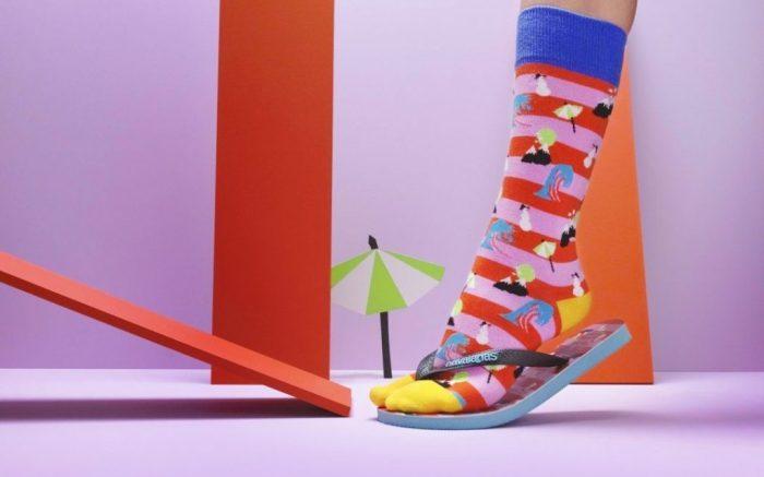 Happy Socks x Havaianas