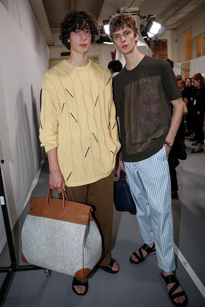 Hermes spring 2020, Paris Fashion Week, Men's.