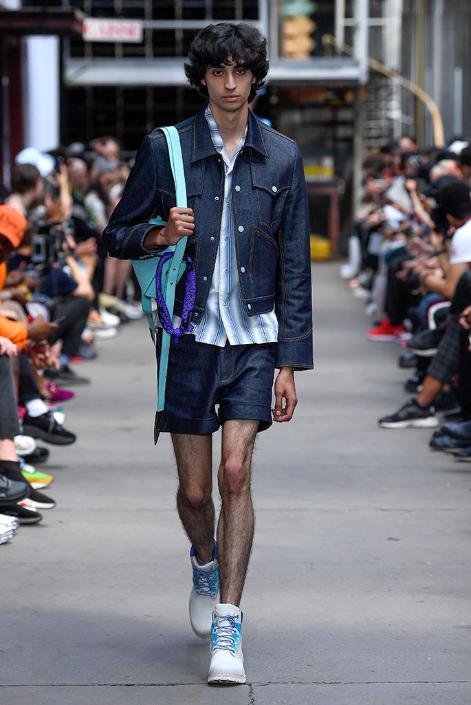 Sankuanz X Timberland spring 2020, Paris Fashion Week.