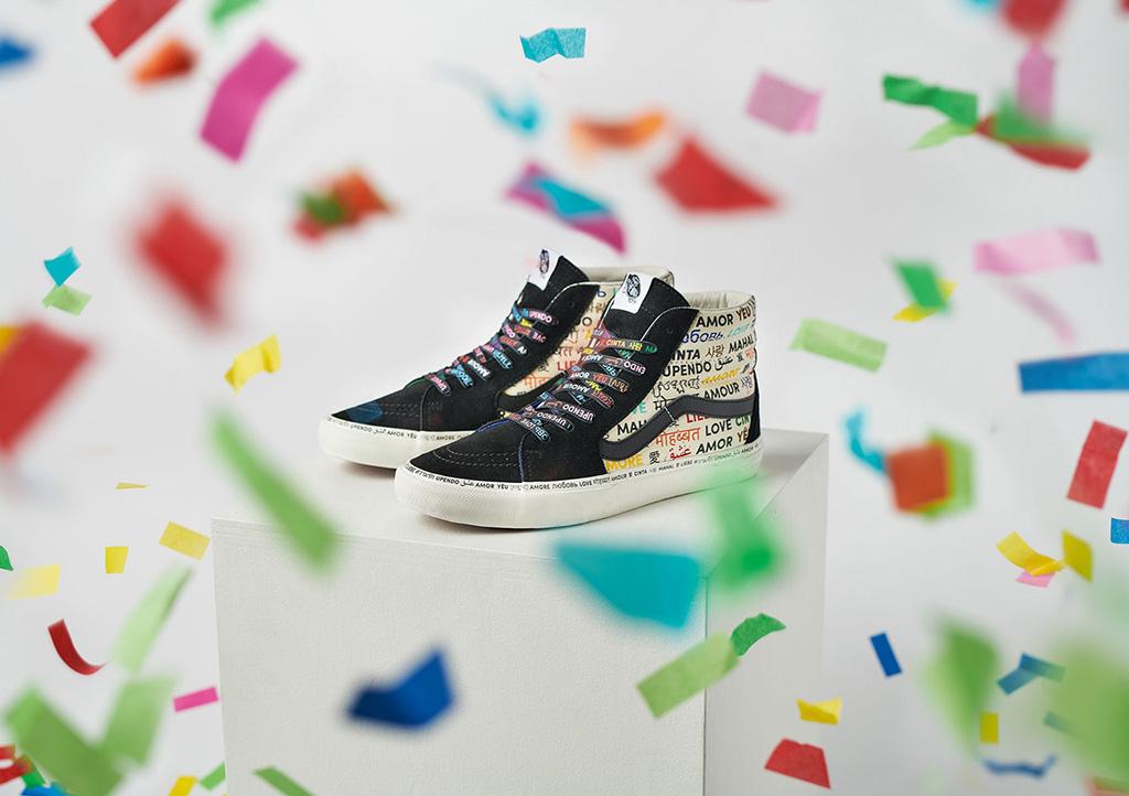 Vans The Love Pack, pride shoes ,Sk8-Hi