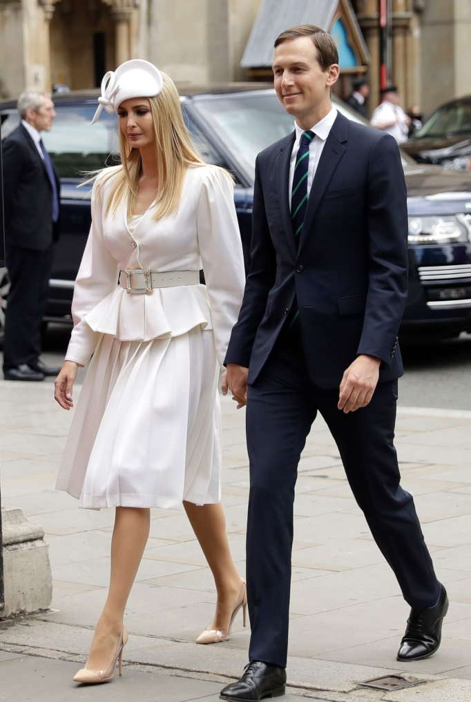 ivanka trump, Alessandra Rich, jared kushner, royal visit