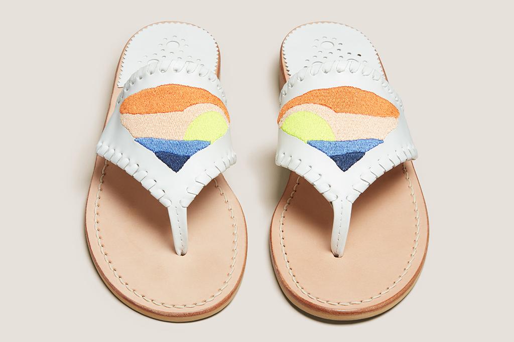 Jack Rogers Flagpole collab sandals