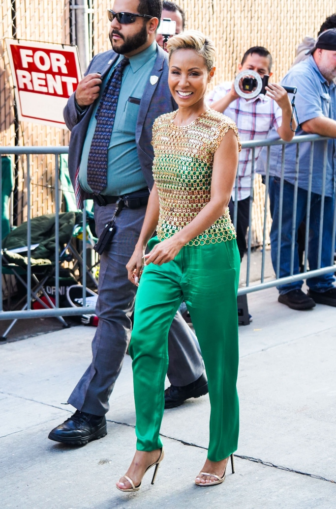 Jada Pinkett Smith, Jimmy Kimmel Live