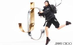 Jimmy Choo Fall 2019 Ads Kaia