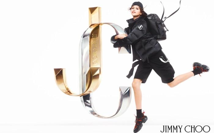 Jimmy Choo Fall 2019 Ads Kaia Gerber