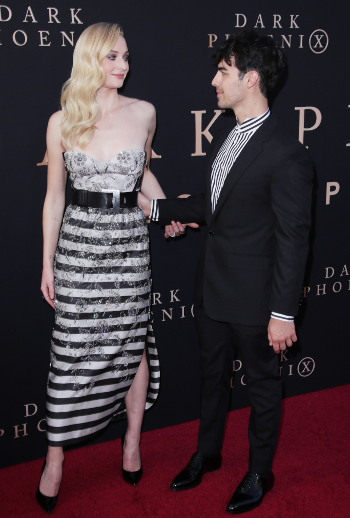 sophie turner and joe jonas, louis vuitton resort 2020, dark phoenix world premiere