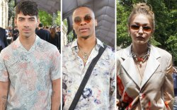 joe jonas, russell westbrook, gigi, paris